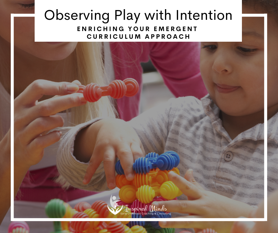 Observing Play with Intention